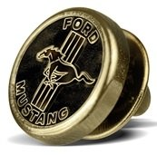 Значок Ford Mustang Pin old varnished, артикул 35021238